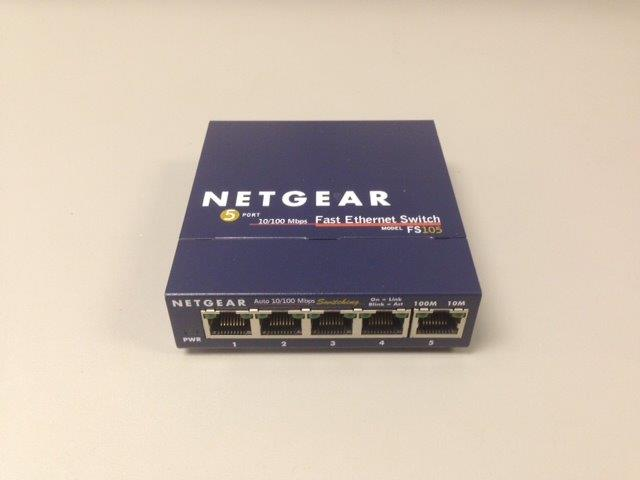 Netgear Lan Switch 5 Port